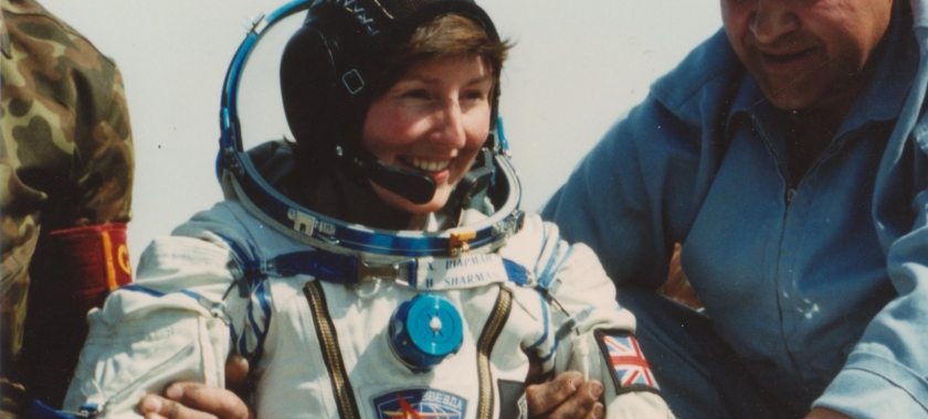 A women of firsts, British astronout Helen Sharman