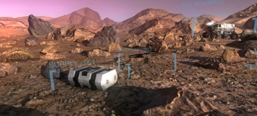 Mars planetary exploration training demo focuses workshop discussions