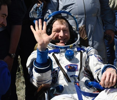Tim Peake, major, astronaut, Blue Abyss supporter