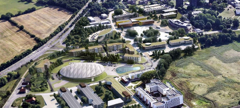 Location discussions with University of Essex enter final stage